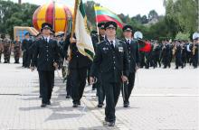 Keturi tūkstančiai Lietuvos pasieniečių mini profesinę šventę