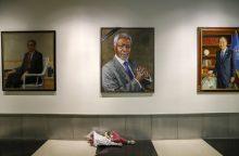 Pasaulio lyderiai atiduoda duoklę mirusiam Nobelio laureatui K.  Annanui
