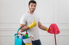 Patarimai, kaip švarinti namus ir sveikiau, ir taupiau