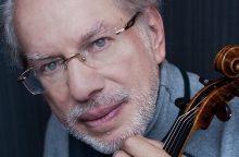 """""""Menų Nobelio premija"""" – smuikininkui G. Kremeriui"""