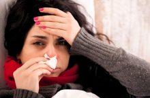 Lietuvoje padaugėjo susirgimų gripu