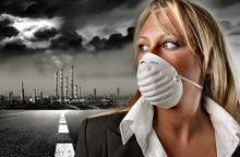 Daugiau kaip 90 proc. pasaulio žmonių kvėpuoja užterštu oru