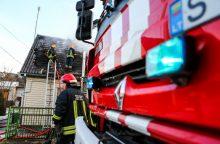 Per gaisrą Kėdainių rajone žuvo sutuoktiniai