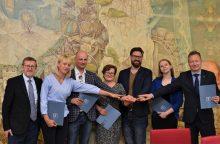 Klaipėdos įstaigos kartu sieks skatinti jaunimo verslumą