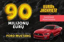 Ar kažkam iš lietuvių atiteks 90 mln. Eur?