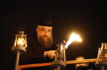 Žydai švenčia Chanuką