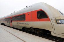 Kelionė traukiniu į Vilnių tapo problema?