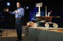 """NASA oficialiai paskelbė marsaeigio """"Opportunity"""" misijos pabaigą"""