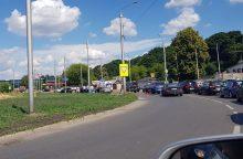 "Netoli Kauno pilies – BMW ir ""Opel"" avarija"