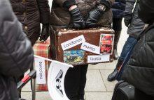 Streikuojančios Vilniaus Žemynos progimnazijos tėvai rengia palaikymo žygį