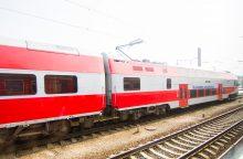 Nuo sekmadienio – dešimtadaliu daugiau traukinių reisų