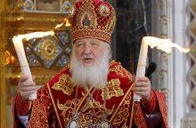 Patriarchas Kirilas dėl Ukrainos Bažnyčios kreipiasi į popiežių ir JT