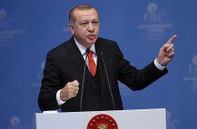 R. T. Erdoganas ragina pripažinti Jeruzalę Palestinos sostine