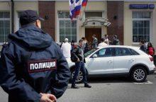 Rusijoje per mikroautobuso avariją sužeisti 16 žmonių