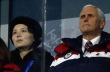 Paaiškėjo, kodėl neįvyko slaptas JAV ir Šiaurės Korėjos pareigūnų susitikimas