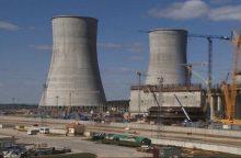 Baltarusija tikisi branduolinio kuro pirmajam Astravo AE reaktoriui sulaukti lapkritį