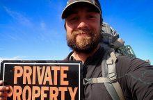 Pėsčiomis privačią Ameriką apkeliavęs K. Ilgunas: nenoriu to pakartoti