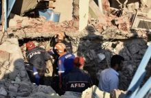 Pietryčių Turkiją supurtė žemės drebėjimas, sužeistųjų – kelios dešimtys