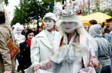 Pantomimos aktorė: turi žiūrovą vedžioti aplink nosį