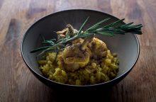 Virtuvės šefas Gian Luca Demarco atskleidžia savo mamos sukurtą receptą