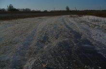 """Žirgų lenktynės """"Sartai 2018"""": Dusetų hipodromas jau blizga ledu"""