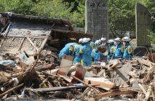 Japonijoje stichija padarė daugiau nei 340 milijonų eurų žalos