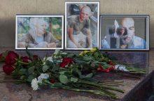 Žiniasklaidos organizacija: nužudyti rusų žurnalistai buvo užpulti iš pasalos