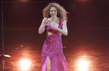 Shakira sumokėjo 14,5 mln. eurų, kad padengtų savo įsiskolinimą