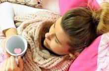 Kauno apskrityje dėl gripo į ligoninę paguldyti septyni žmonės