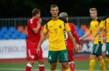 Futbolininkas G. Matulevičius: malonu būti tarp geriausių