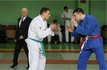 Dziudo čempionate Klaipėdos apskrities pareigūnai pelnė šešis medalius