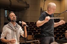 G. Rinkevičius apie L. Adomaitį: tikras artistas visada spinduliuoja gyvą energiją
