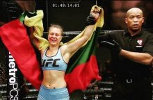 Kovotoja J. Stoliarenko iškovojo pergalę UFC organizuojamame realybės šou