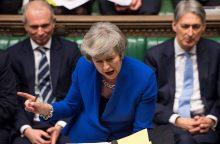 Europos Komisija teigia iš Th. May lūpų neišgirdusi nieko nauja