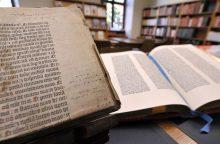 Gutenbergo Biblija tampa prieinama internete