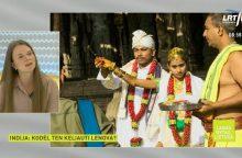 Į Indiją viena keliauti išsiruošusi lietuvė pradžioje apsimetė ištekėjusi