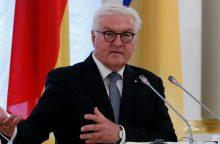 JAV viešintis Vokietijos prezidentas nesusitiks D. Trumpu
