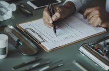 Kodėl absoliučios daugumos gydytojų rašyseną sunku įskaityti?