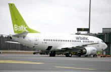 """Kopenhagoje avariniu būdu leidosi """"airBaltic"""" lėktuvas"""