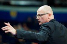 20-mečių krepšinio rinktinė išvyksta į Europos čempionatą