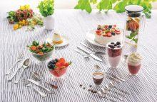 Neįprasti desertų receptai su sezoninėmis uogomis