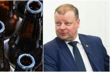 S. Skvernelis: pabrangęs alus bus nepatrauklus