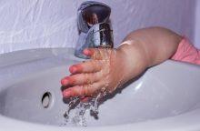 Specialistai: vaikams trūksta žinių, kaip teisingai plauti rankas