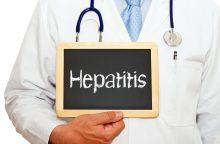 Hepatitas C dažnai nustatomas jau pažengęs