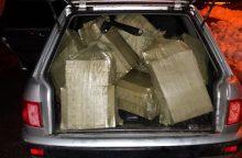 Dėl rūkalų kontrabandos druskininkietis mokės tūkstantinę baudą