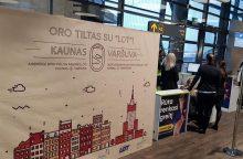 Nauja Kauno oro uosto era: pradedami nuolatiniai skrydžiai į Varšuvą