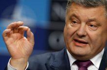 P. Porošenka: užkirsiu kelią pirmalaikiams rinkimams