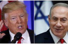 JAV lyderis į Vašingtoną kviečia Izraelio premjerą