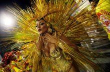Rio de Žaneiro karnavalas prasidėjo be miesto mero