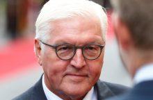 Vokietijos prezidentas Baltijos šalims: aklas priešiškumas Rusijai – pavojingas